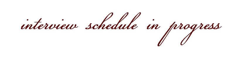 Schedule In Progress