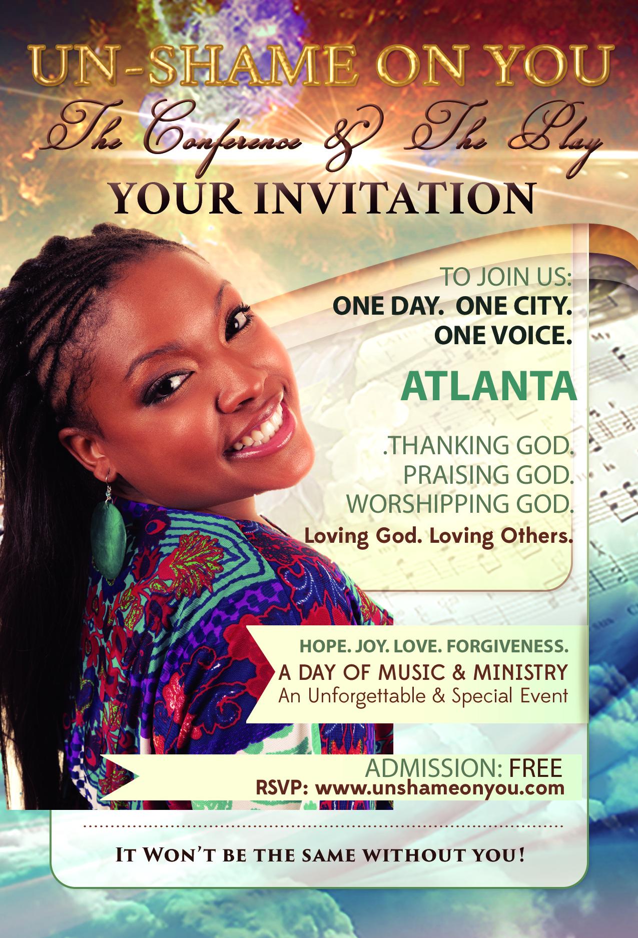 Postcard-Personal Invitation